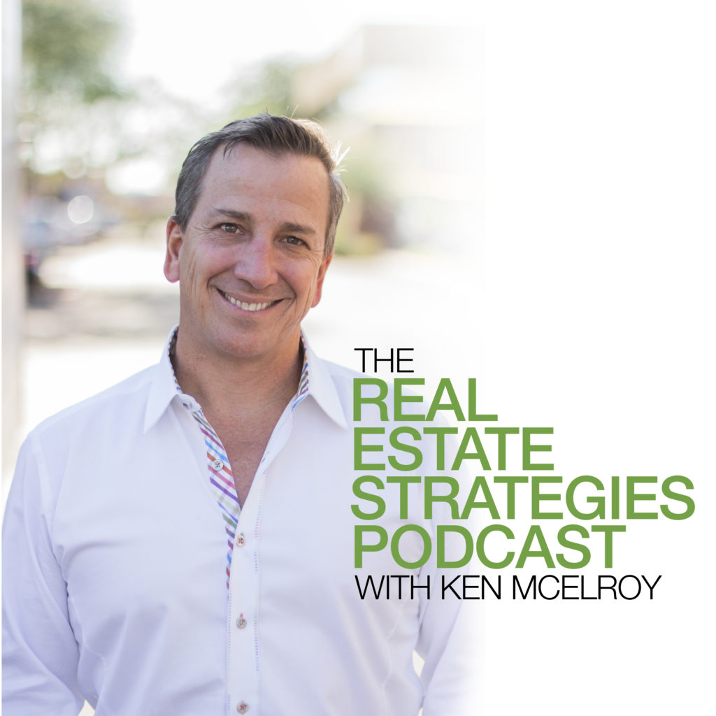 Real Estate Strategies Podcast Green Cover | Ken McElroy Image