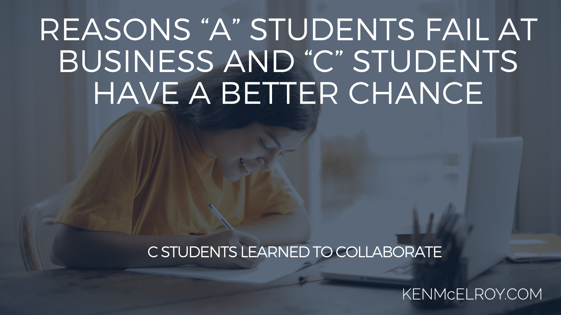 C students learned to collaborate | Ken McElroy Image