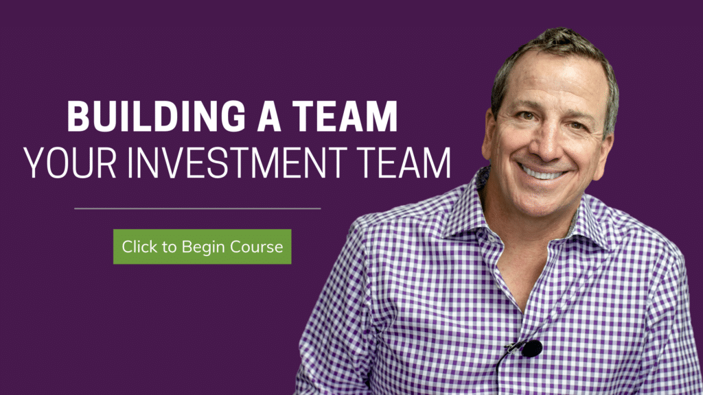 your investment team building a team | Ken McElroy Image