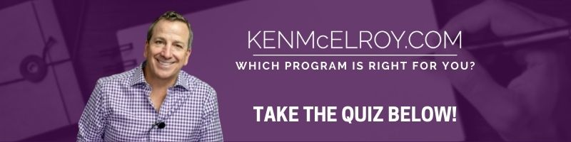 Which program is right for you quiz banner   Ken McElroy Image